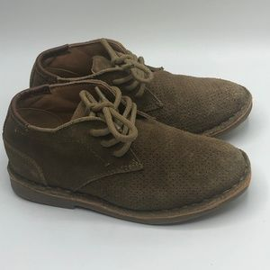 Kenneth Cole Boys Suede Chukka Boots Sz 10